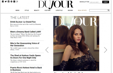 Dujour website screenshot